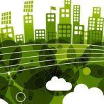 immagine efficienza città verde lungo